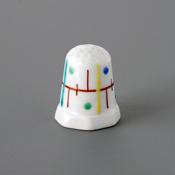 Kutani Thimble 090 Yuki Tanaka Piece, Mugiwara Tokusa