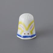 Kutani Thimble 093 Yuki Tanaka Piece, Rabbit
