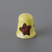 Kutani Thimble 095 Akemi Katsube Piece, Starfish