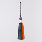 Art Fiber Endo Tassel System 01, Vermillion/Classic Purple/Dark Green/Ivory 4-Color Gradation