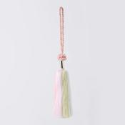 Art Fiber Endo Tassel System 03, Pink/Light Pink/Light Green 3-Color Gradation