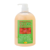 Tabibijin Orange Body Soap, 1000ml