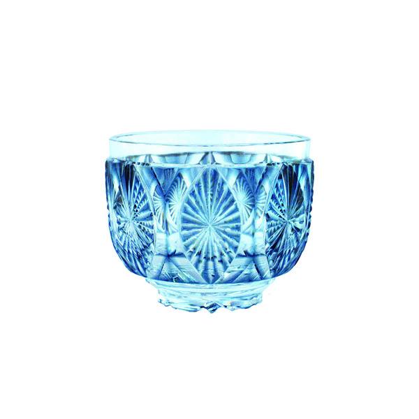 Satsuma Kiriko Created Satsuma Bowl Indigo Chrysanthemum Jcrafts Com