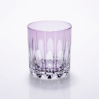 Old-Fashioned Glass Drop, Purple