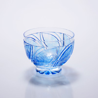 Cold Sake Cup Konoha, Blue
