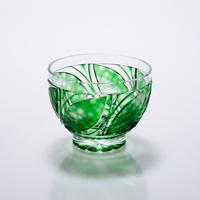 Cold Sake Cup Konoha, Green