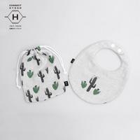 Fanfare baby bib kit, Wilderness Cactus