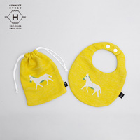 Fanfare baby bib kit, The Traveling Donkey