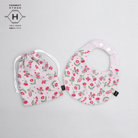 Fanfare baby bib kit, Flowers For You