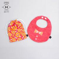 Fanfare baby bib kit, Butterfly Necktie, Girl