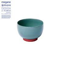 Soup Bowl, Moss Green x Orange