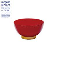 Rice Bowl, Red x Beige