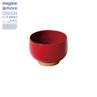Small Bowl, Red x Beige