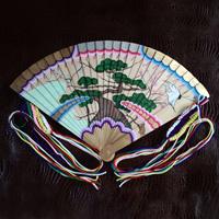 Hime Fan (w/Plain Wood Fan Stand)