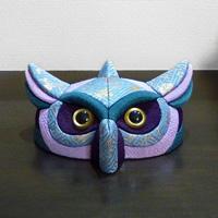 Kimekomi Owl Glasses Stand (Blue)