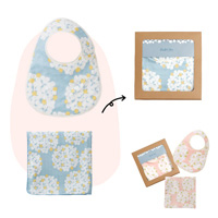 QUARTER REPORT Baby Gift Set, G-float, Made in Japan