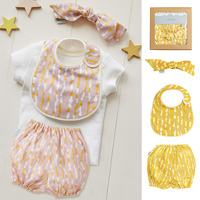 QUARTER REPORT Baby Gift Set, Drop, Made in Japan
