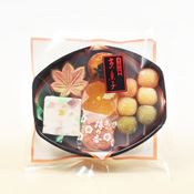[Japanese Wagashi Sweets] Kyoto 4 Seasons, Fall, Contains 7  [For September-November Only]