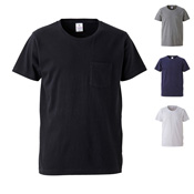 [United Athle] 4.7 Ounce Fine Jersey T-Shirt (w/Pockets)