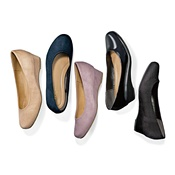 [Cecile] Round-Toe Wedge Pumps / Spring 2017 New Item, Ladies'