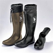 [Cecile] Foldable Rain Boots w/Storage Bag / Spring 2017 New Item, Ladies'