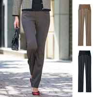 [Cecile] Warm-Stomach Straight Pants / 2018 Winter Lineup, Ladies