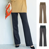 [Cecile] Warm-Stomach Bootcut Pants / 2018 Winter Lineup, Ladies