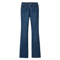 [Cecile] Selectable Fit Bootcut Jeans (Indigo) / Winter 2018 New Item, Ladies'