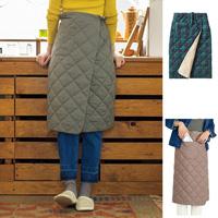 [Cecile] Heat-Storing Batting Skirt Blanket / Winter 2018 New Item, Ladies'