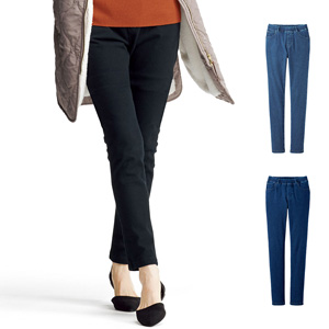 [cecile] Knit Denim Pull-On Slim Pants / New Arrival Spring Summer 2020, Ladies