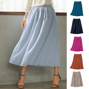 [cecile] Fluffy Cotton Flare Skirt / New Arrival Summer 2020, Ladies