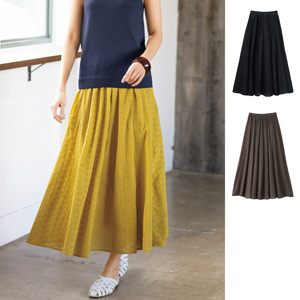 [cecile] Embroidered Skirt / New Arrival Summer 2020, Ladies