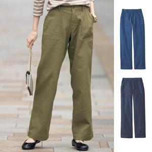 [cecile] Bonded Gauze Baker Pants / New Arrival Summer 2020, Ladies