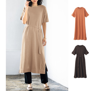[cecile] Knit Tunic Dress / New Arrival Summer 2020, Ladies