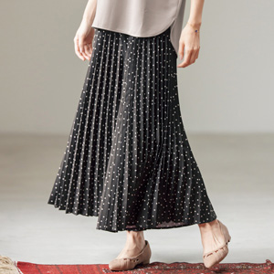 [cecile] Pleated Gaucho Pants / New Arrival Summer 2020, Ladies