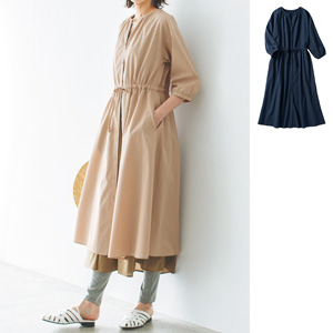 [cecile] 2WAY Dress of Cotton Material / New Arrival Summer 2020, Ladies