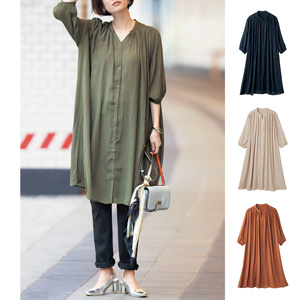 [cecile] Shirt Dress / New Arrival Summer 2020, Ladies
