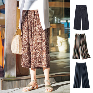 [cecile] Cool Gaucho Pants / New Arrival Summer 2020, Ladies