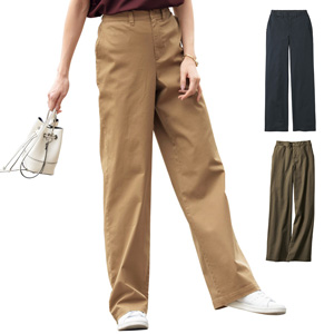 [cecile] Wide Chino Pants / New Arrival Summer 2020, Ladies