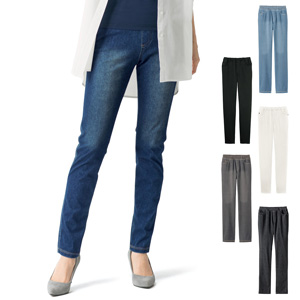 [cecile] Knit Denim Skinny Pants / New Arrival Summer 2020, Ladies