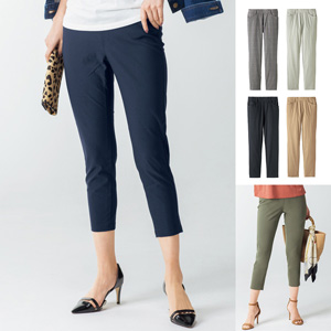 [cecile] Hyper Stretch Cropped Pants / New Arrival Summer 2020, Ladies