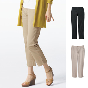 [cecile] Tumble Dry Cropped Pants / New Arrival Summer 2020, Ladies