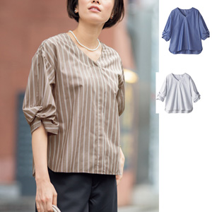 [cecile] Tuck Blouse / New Arrival Summer 2020, Ladies