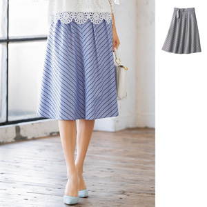 [cecile] Striped Skirt / New Arrival Summer 2020, Ladies