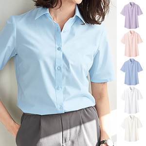 [cecile] Stable Form Regular Collar Shirt (Short Sleeve) / New Arrival Summer 2020, Ladies