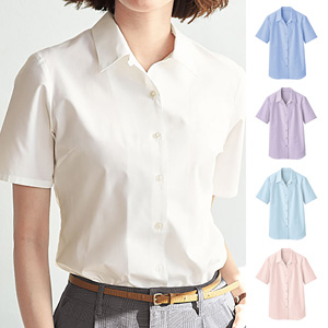 [cecile] Stable Form Hama Collar Shirt (Short Sleeve) / New Arrival Summer 2020, Ladies