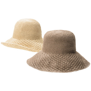[cecile] Hand-Knitted Natural Hat / New Arrival Summer 2020, Ladies