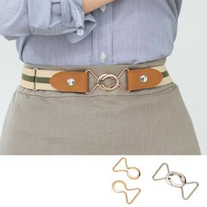 [cecile] Belt Buckle for Rubber Belt / New Arrival Summer 2020, Ladies