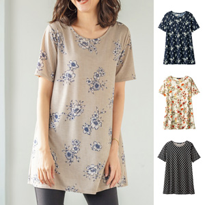 [cecile] Flare Print Tunic / New Arrival Summer 2020, Ladies