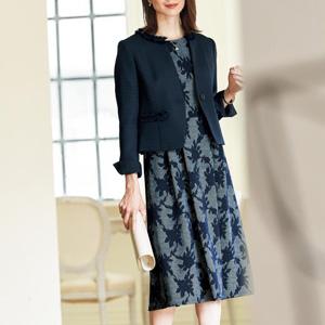 cecile ensemble suit(jacket + dress)/New 2021 spring item,ladies